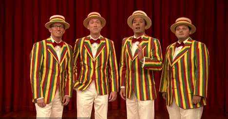 Jimmy Fallon Late Night Barbershop Quartet