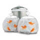 Cleverly Concealed Trash Carriers - The Pet Goldfish Garbage Bags Decoratively Discards Debris (GALLERY) 2