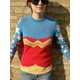 The 'Wonder Woman Knit Sweater' is a Nostalgia-Filled DIY 3