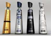 The Evian Star Wars Bottle Design is Out of This World