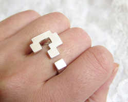 The Question Mark Ring is Inspired by the Super Mario Game