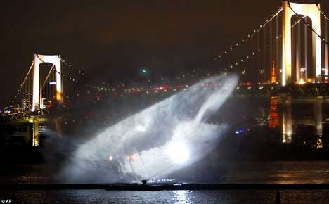 Odaiba Water Illumination Show