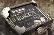 Retro-Futuristic Timepieces