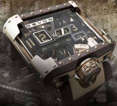 Devon Tread 1 Steampunk Watch