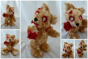 Zombified Stuffed Animals are Adorable Brain Eaters