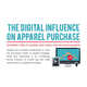 Multimedia Shopping Stats - The 'Digital Influence on Apparel Purchase' Infographic is Impactful (GALLERY) 1