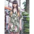 Hipster Hawaiian Editorials - Rebecca Naen Captures Island-Themed Couture