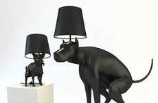 The 'Good Boy' Lamp is Shaped Like a Pooping Canine
