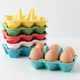 Polychromatic Kitchen Accessories - The Half-Dozen Egg Crate is Chic and Colorful (GALLERY) 1