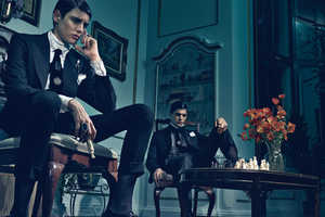The Interview Magazine Peter II and Harry Brant Editorial is Sublime