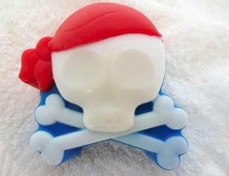 Handmade Skull & Washbones Soap