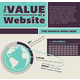 The 'Value of a Website' Infographic Shows the Cost of Web Presence 1
