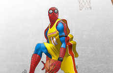 Pramod Koshy George Renders Marvel Characters as Highflying NBA Stars