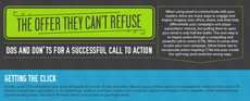 Email Campaign Graphics - The 'Designing the Perfect Call to Action Infographic' Explains Methods