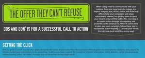 The 'Designing the Perfect Call to Action Infographic' Explains Methods