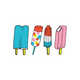 Delicious Dessert-Inspired Body Art - The Tattly Popsicle Tattoos Show Off Some Frozen Sweets (GALLERY) 5