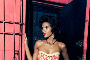 The Fashion Gone Rogue 'Maybe Tonight' Editorial Stars a Glam Cris Urena