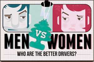The 'Men vs Women: Who are the Better Drivers?' Infographic Stuns