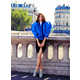 Color-Filled Paris Captures - The Marie Claire Australia 'à la francaise' Editorial is Set in F (GALLERY) 8