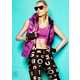 Vibrant Candy-Colored Couture - Aline Weber for H&M Magazine Fall 2012 is a Playful Metallic Series (GALLERY) 4