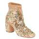 Sparkle-Splattered Footwear - The Maison Martin Margiela Gold Ankle Boots Will Entice Eyes (GALLERY) 1