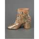 The Maison Martin Margiela Gold Ankle Boots Will Entice Eyes 4