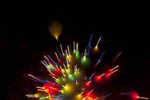 David Johnson's Long Exposure Fireworks are Breathtaking