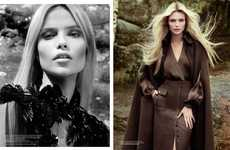 Natasha Poly for Vogue Turkey September 2012 Recreates Robin Hood