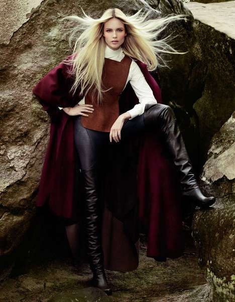 Natasha Poly for Vogue Turkey September 2012