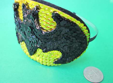 Batman Emblem Sequins Headband