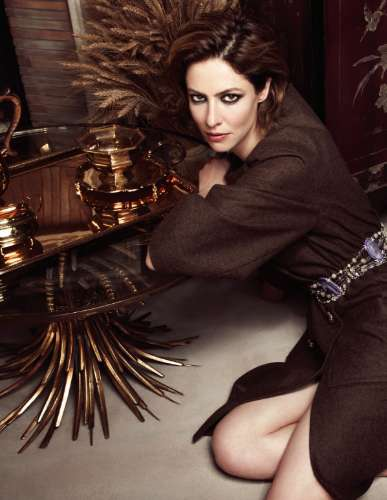 Anna Mouglalis for Harper