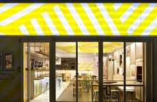 Canopied Ceiling Cafes - The Play Pot Restaurant is Inspired by Street Venders