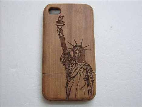 Wooden Engraved iPhone Cases
