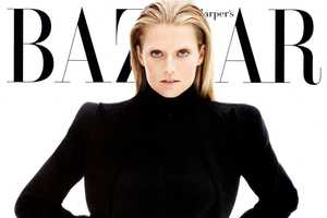 Toni Garrn for Harper's Bazaar September 2012