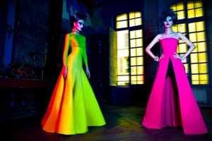The L'officiel China 'Multi-Colors' Editorial Showcases Bold Shades