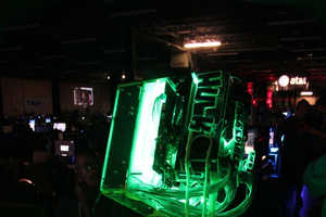The Glowing Incredible Hulk Computer Case