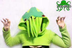 The Cthulhu Cosplay Shrug Shirt is Both Humorous and Horrific
