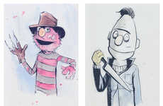 Muppet Horror Icon Mash-Ups