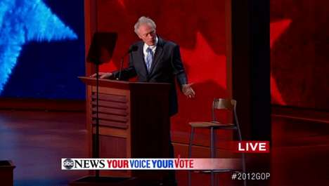 Clint Eastwood Made an Appearance at the RNC