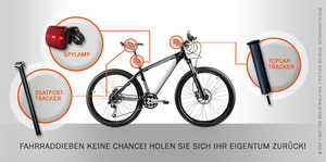 The SpyBike Invisible GPS Lets You Know Where Your Bike is at All Times