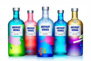 ABSOLUT UNIQUE Features Four Million Different Bottles Designs