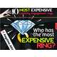 Celebrity Bling Infographics - The 10 Most Expensive Rings Chart Details Exuberant Wealth (GALLERY) 1