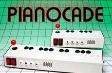 Retro Arcade Music Machines - The Pianocade Synthesizer Makes 80s 8-Bit Tunes