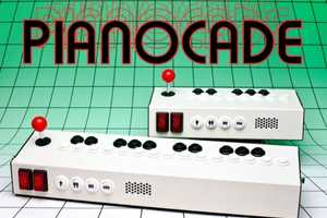 The Pianocade Synthesizer Makes 80s 8-Bit Tunes