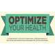 Holistic Lifestyle Graphics - The Optimize Your Health Infographic Promotes Wellness (GALLERY) 1