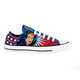 Super-Heroine-Styled Shoes - The Wonder Woman Converse All Star Lo Tops are Fiercely Female  1