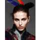 Samurai Color Explosion Editorials - The Karlina Caune for Vogue Turkey Feature is Breathtaking (GALLERY) 5