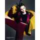 Samurai Color Explosion Editorials - The Karlina Caune for Vogue Turkey Feature is Breathtaking (GALLERY) 7
