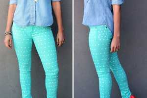 The Brit & Co. Polka-Dotted Pants are Stylish and Easy to Make