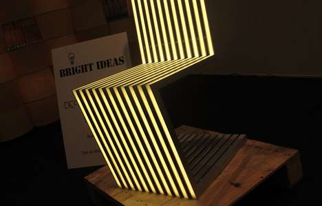 Linear LED Chair